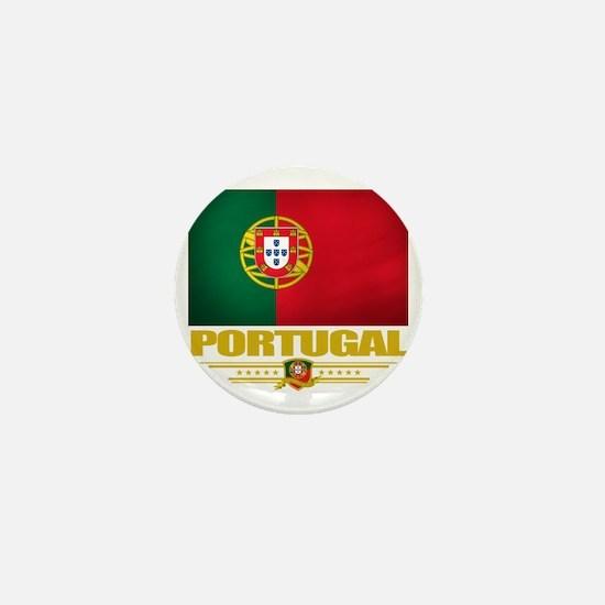 Portugal (Flag 10) Mini Button