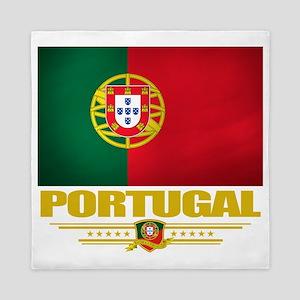 Portugal (Flag 10) Queen Duvet