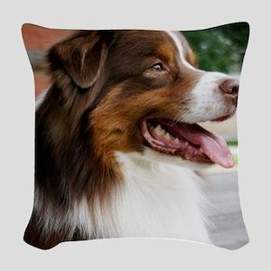 redporch Woven Throw Pillow