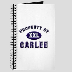 Property of carlee Journal