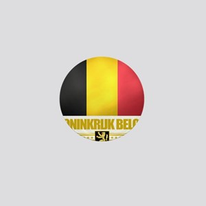Belgium (Flag 10) Mini Button