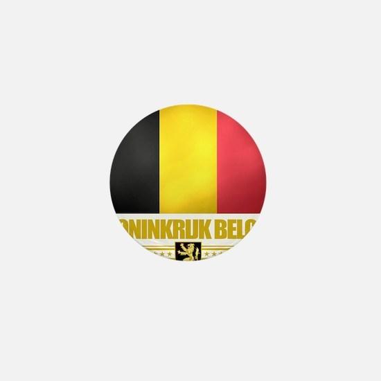 Belgium (Flag 10) Mini Button