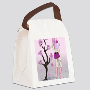 cherryblossom1 Canvas Lunch Bag