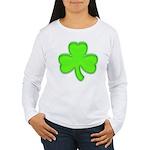 Shamrock ver2 Women's Long Sleeve T-Shirt
