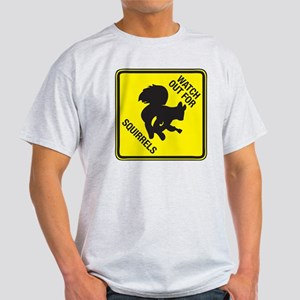 Squirrels_5inch Light T-Shirt