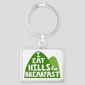 Hills Landscape Keychain