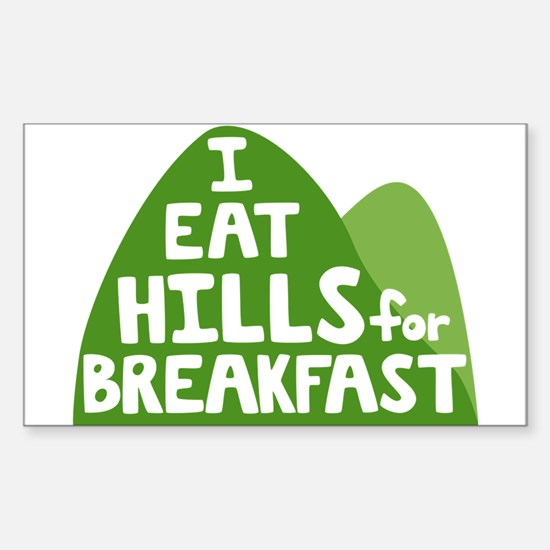 Hills Sticker (Rectangle)
