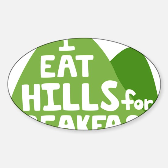 Hills Sticker (Oval)
