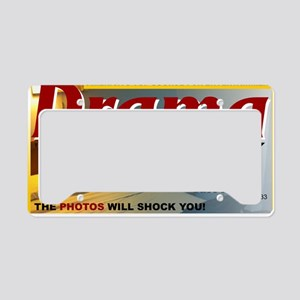 dramaweekly-journal-yellowble License Plate Holder