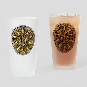 Lammas/Lughnasadh Pentacle Drinking Glass