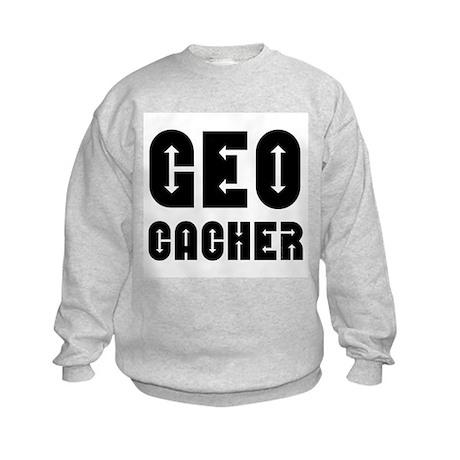 Geocacher Arrows Kids Sweatshirt