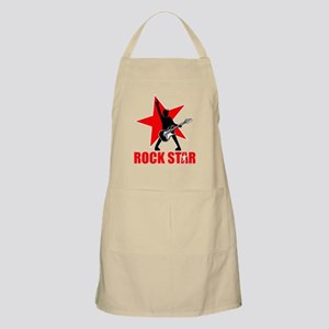 Rock star (black) Apron
