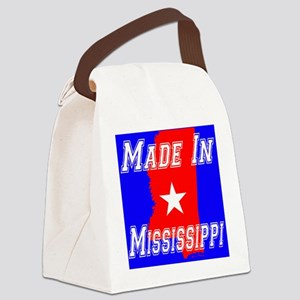 Made in Mississippi Canvas Lunch Bag
