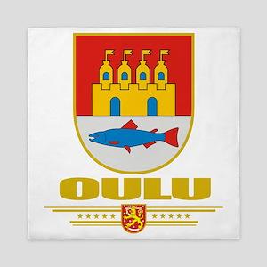 Oulu COA (Flag 10) Queen Duvet