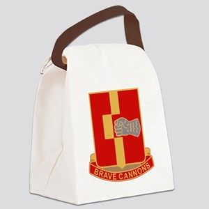 92nd Field Artillery Regiment Mil Canvas Lunch Bag