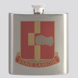 92nd Field Artillery Regiment Military Patch Flask