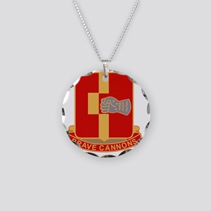 92nd Field Artillery Regimen Necklace Circle Charm