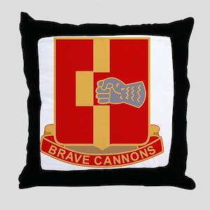 92nd Field Artillery Regiment Militar Throw Pillow