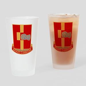 92nd Field Artillery Regiment Milit Drinking Glass