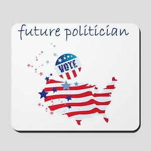 future politician Mousepad