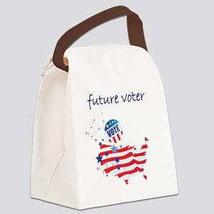 future voter Canvas Lunch Bag