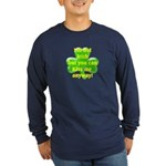 Not Irish, Kiss Me Long Sleeve Dark T-Shirt