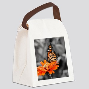 Madam Butterfly Canvas Lunch Bag