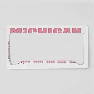 Michigan License Plate Holder