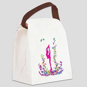 bielmangirlpink Canvas Lunch Bag