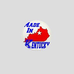 madein_kentucky_bigK_white Mini Button