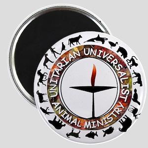 UUAM LOGO - 3x3 with animals  Magnet
