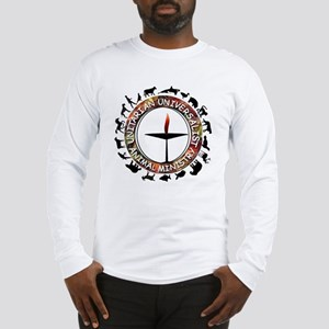 UUAM LOGO - 3x3 with animals p Long Sleeve T-Shirt