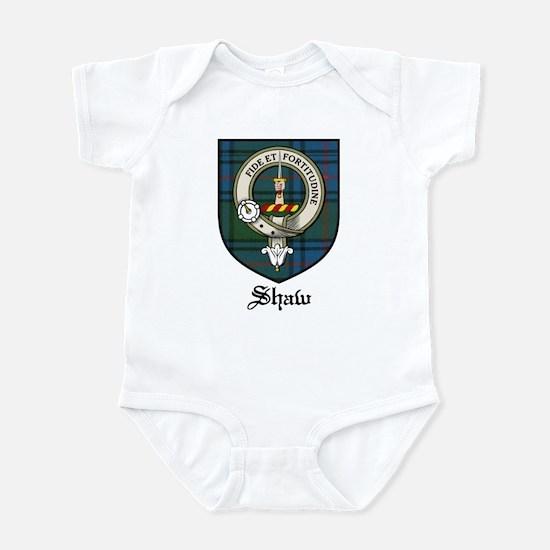 Shaw Clan Crest Tartan Infant Bodysuit