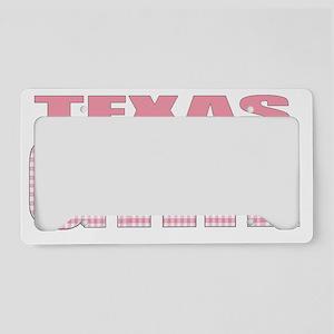 Texas License Plate Holder