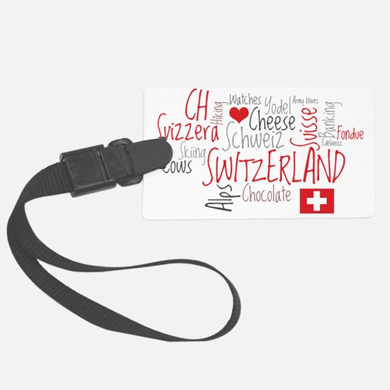 What We Love About Switzerland Luggage Tag