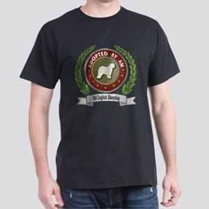 Sheepdog Adopted Dark T-Shirt