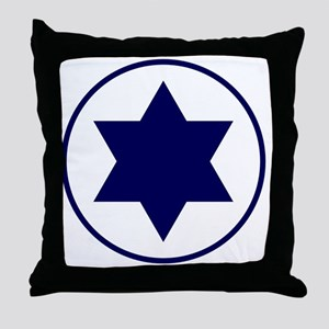 7x7-IAF_roundel_(early_variant) Throw Pillow