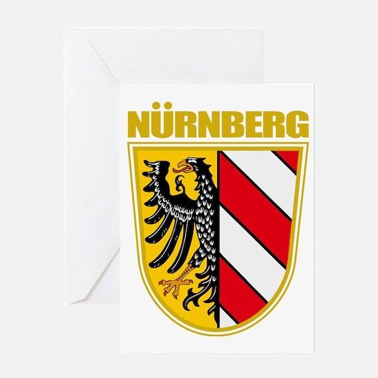 Nurnberg (gold) Greeting Card
