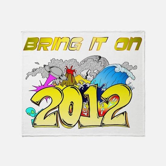 BRING2012 Throw Blanket