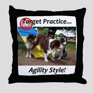 targetpractice Throw Pillow
