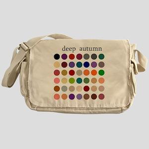 deep autumn Messenger Bag