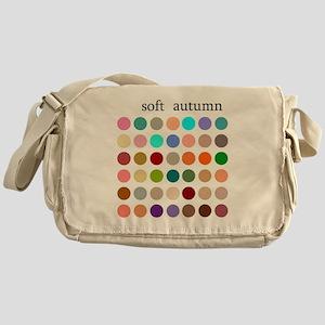 soft autumn Messenger Bag