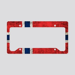 Norway Flag License Plate Holder