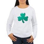 Shamrock ver3 Women's Long Sleeve T-Shirt