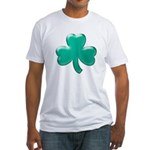 Shamrock ver3 Fitted T-Shirt
