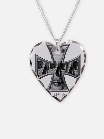 Hell N Back Skulls Necklace