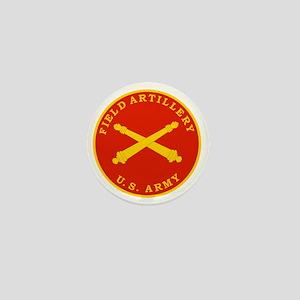 Field Artillery Seal Plaque Mini Button