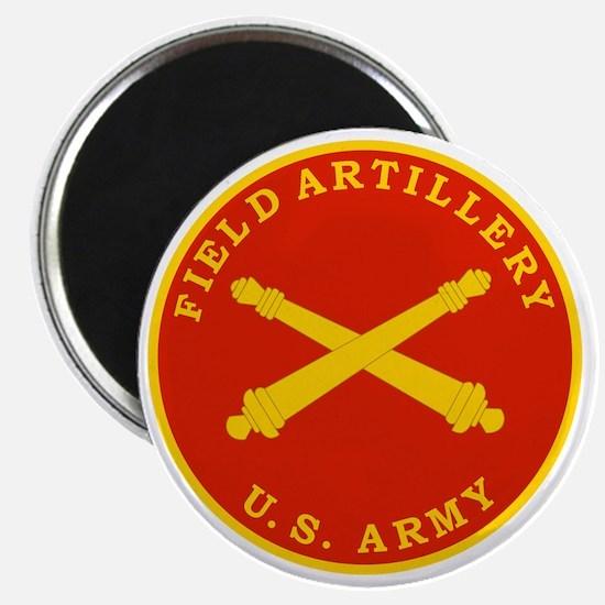 Field Artillery Seal Plaque Magnet
