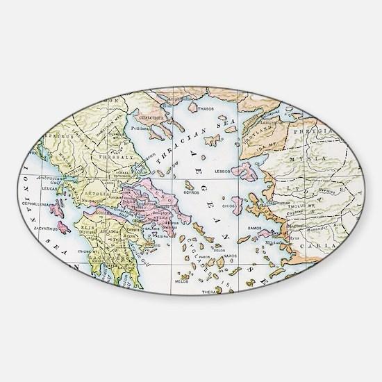 athenianempireatheight(btsfd192) Sticker (Oval)