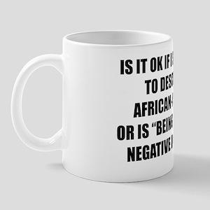 black.white Mug